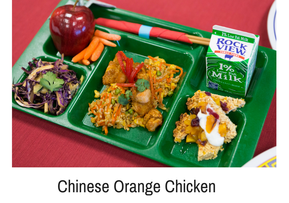 Chinese Orange Chicken Valley HS 2018